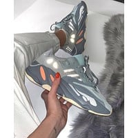 "Adidas Originals YEEZY BOOST 700""Salt""Jogging shoes"