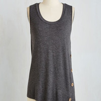 Long Sleeveless The Picture of Quaint Top