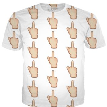 Middle Finger Emoji Shirt