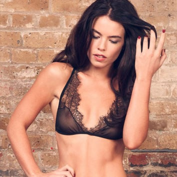 Chantilly Lace Bra- Lingerie / Underwear Made to Order