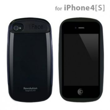 iface Revolution Case for iPhone 4S/4 (Black)