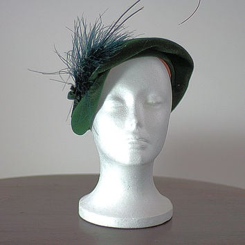 1950 Forest Brandt of New York Hat, Just In