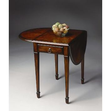 Butler Plantation Cherry Glenview Pembroke Table