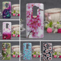 For LG Leon Cases Luxury 3D Relief Printing Soft TPU Back Cover Case For LG Leon 4 G LTE C40 C50 H340N H320 Phone Case Silicon