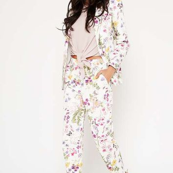 PREMIUM Floral Print Trousers - View All - Apparel