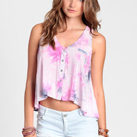 Hippie Delight Tie Dye Tank - $32.00: ThreadSence, Women's Indie & Bohemian Clothing, Dresses, & Accessories