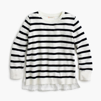 Girls' Cotton & Cashmere Sweaters : Girls' Sweaters | J.Crew