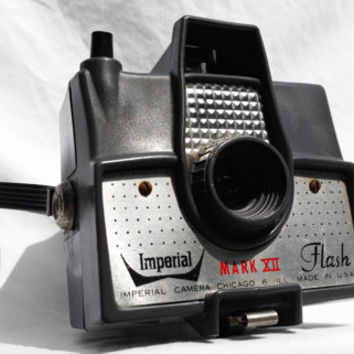 Imperial Mark XII Flash Camera, Vintage Retro Industrial Decor
