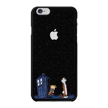 Calvin And Hobbes Apple Tardis iPhone 6/6S Case
