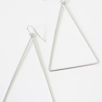 Dream On Earrings - Silver