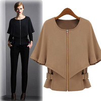 Women Business Casual Suit Outerwear Jacket a12920