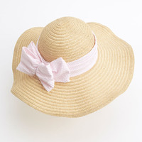 Seersucker Race Day Hat for the Kentucky Derby - Vineyard Vines