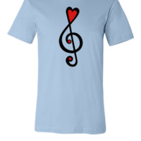 Treble clef - Unisex T-shirt