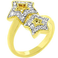 Pave Starlet Ring, size : 10