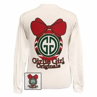 Girlie Girl Originals Christmas Ornament Logo Long Sleeves T Shirt