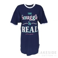 Snuggle Is Real Snuggle-Up Sleep Shirt | Lakeside Cotton