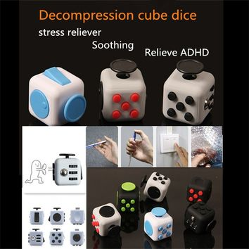 Anti Anxiety Pressure Vent Artifact Cube Rubik's Cube to Solve the Puzzle Cube