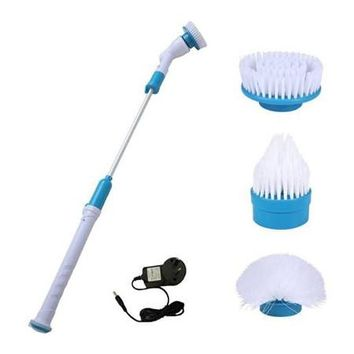 Multi-functional Cleaning Brush Spin Turbo Scrub Bathtub Brush Power Cleaner Mop Tiles Floor Spin Scrubber