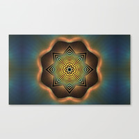 Eight Sides of Zen Canvas Print by lyle58