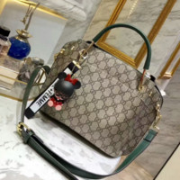 Gucci Women Leather Tote Handbag Shoulder Bag