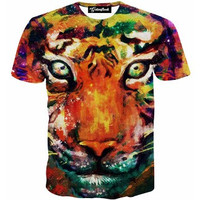 Tiger Paint Tee