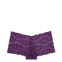Wildflower Lace Boyshort - PINK - Victoria's Secret