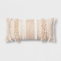 Tufted Oversize Lumbar Pillow - Opalhouse™