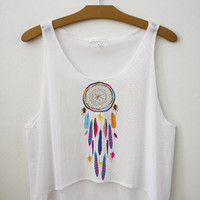 Dream Catcher Crop Top | fresh-tops.com