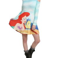 Disney The Little Mermaid Ariel Cold Shoulder Dress