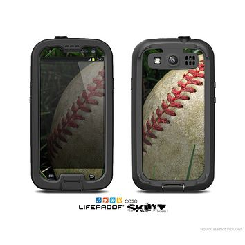 The Grunge Worn Baseball Skin For The Samsung Galaxy S3 LifeProof Case
