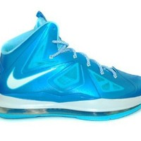 Nike Lebron X (GS) Boys Basketball Shoes 543564-400 Photo Blue 7 M US
