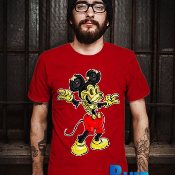 Natures Mistake-Mickey Mouse Men T-Shirt - Mickey Mouse T-Shirt - Natures Mistake - Disney Design T-Shirt for Men (Various Color Available)