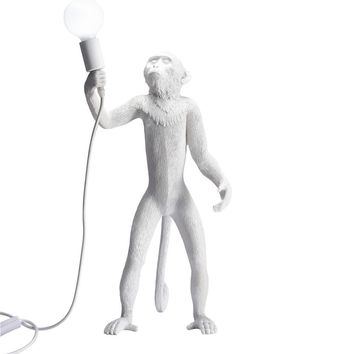 Monkey Table Lamp - Stand - Reproduction