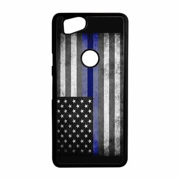 The Thin Blue Line American Police Officer Google Pixel 2 Case