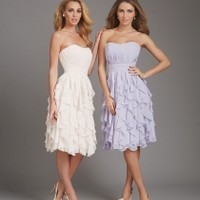 Pleated Bridesmaid Dresses - BridesmaidDesigners