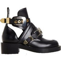 Balenciaga Buckle Ankle Boot