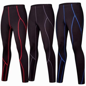 Skinny Kids Sport Compression Pants Athletic Boys Running Pants Fitness Gym Tight Crossfit Workout Quick Dry Jogging Leggings
