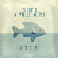 There is a whole world inside me Art Print by Paula Belle Flores
