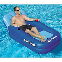 Cooler Couch Pool Float at Brookstone—Buy Now!