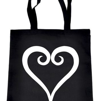 Kingdom Hearts Tote Book Bag School Anime Gamer Accessories
