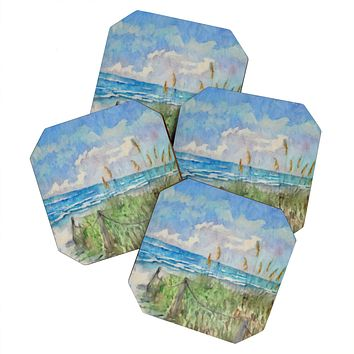 Rosie Brown Paradise Found Coaster Set