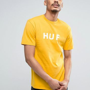 HUF T-Shirt With Logo at asos.com