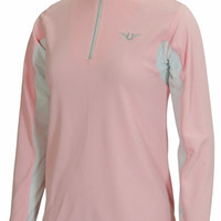 Tuffrider Ventilated with Mesh Long Sleeves Shirt - Childrens