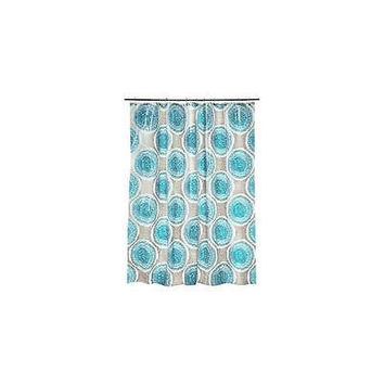 Room Essentials Doodle Medallion Shower Curtain