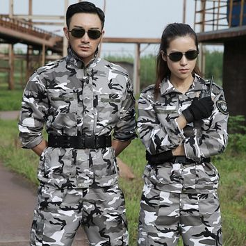 Outdoor Sport Tactical Hunting Clothes For Women Men Ghillie Suit Mens Hunting Clothing Multicam Military Army Camouflage Suit