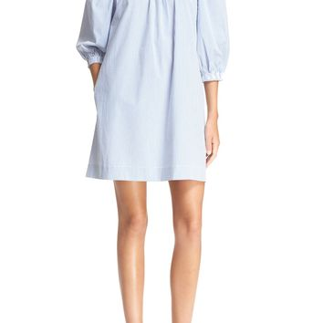 Trina Turk 'Neville' Stripe Off the Shoulder Dress | Nordstrom