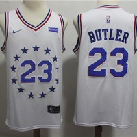 Philadelphia 76ers Jimmy Butler 2018/19 Swingman Jersey – Earned Edition