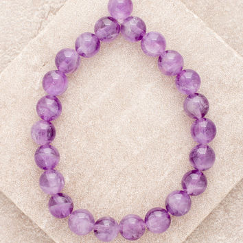 High-Energy Amethyst Wrist Mala