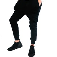 Essential Knit Jogger Pant | BLACK