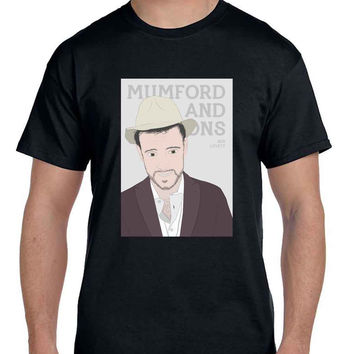 Mumford And Sons Ben Lovett Vektorrize  Mens T Shirt